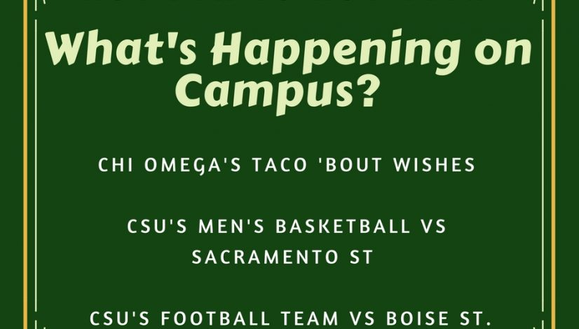 What's Happening on Campus?