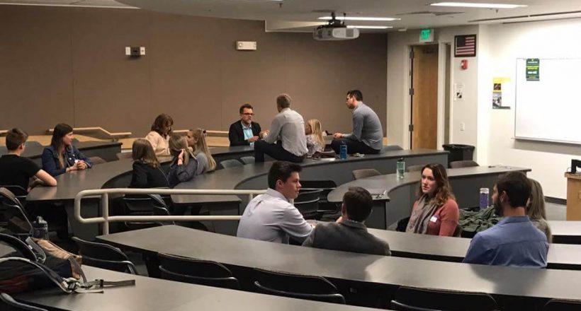 Marketing Association Meeting