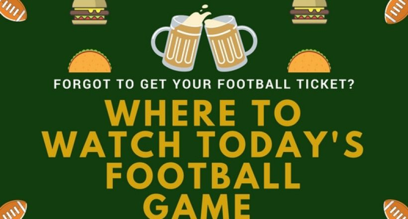 Where to Watch the Game
