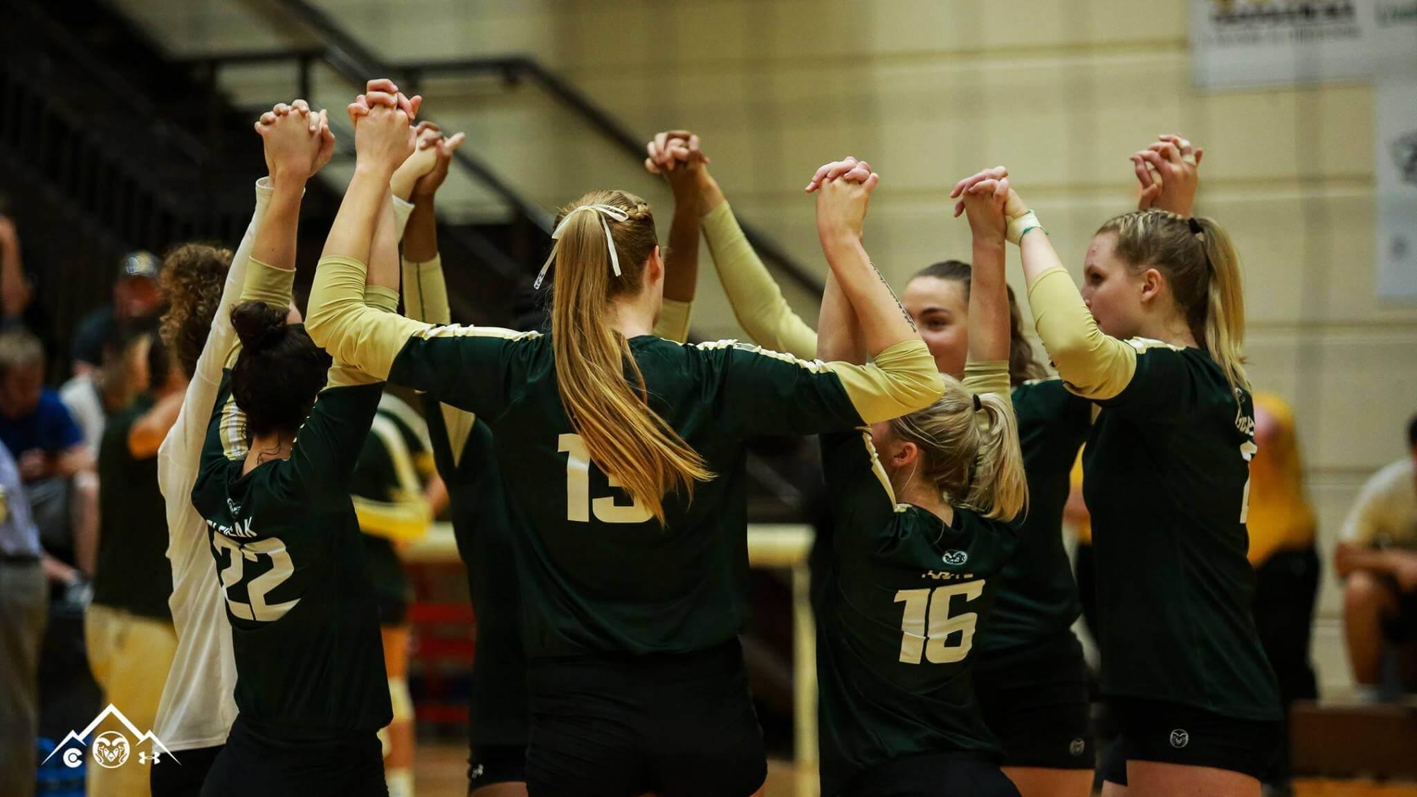 CSU women's volleyball