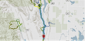 Blue Sky Trail Map