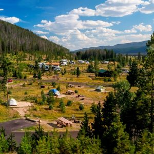 Timber Creek Campground, Rocky Mountain National Park